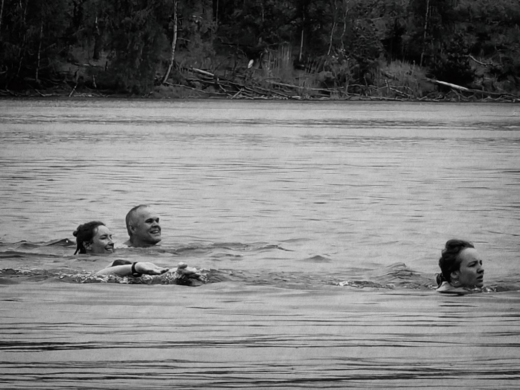 Zawody pływackie Chechło 1925. Styl jakikolwiek